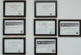 La Fonte della Bellezza - Certificazioni